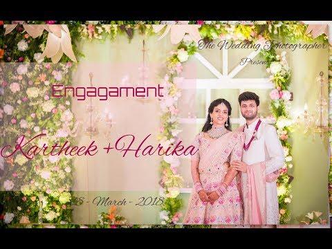 Karteek Chandra  + Harika Dronavalli  Engagement  by Vamsi Manipadi