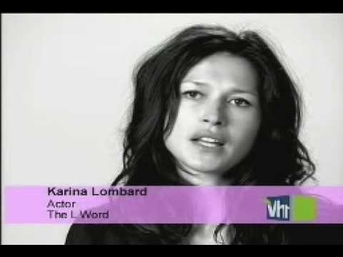 Karina Lombard   Gay TV  The L Word