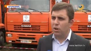 Թալին-Գյումրի ճանապարհահատվածի շինարարության մեկնարկը տրվել է