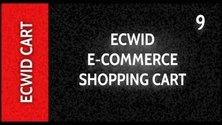 Web Design Tutorials for Xara Web Designer 9 Premium Lesson 129: Embed Ecwid Shopping Cart