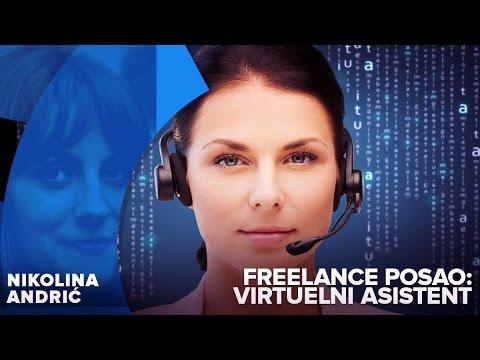 Freelance posao: Virtuelni asistent