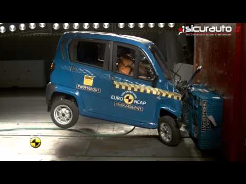 Bajaj Qute - Crash test Euro NCAP Microcar