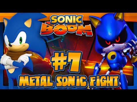 Sonic Boom Rise of Lyric Wii U (1080p) - Part 7 Metal Sonic Fight