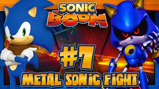 Sonic Boom Rise of Lyric Wii U (1080p) - Part 7 Metal Sonic Fight