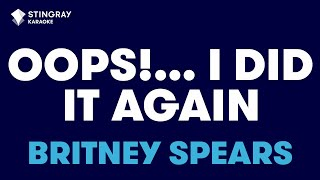 "Oops!...I Did It Again in the Style of ""Britney Spears"" karaoke video with lyrics (no lead vocal)"