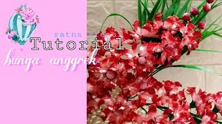 Cara Membuat Bunga Manik Anggrek