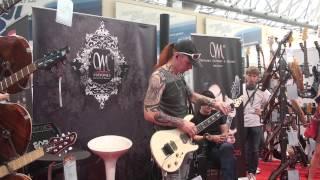 Сергей Маврин(Sergey Mavrin) NAMM RUSSIA 2013 Mayones Guitars pt.3
