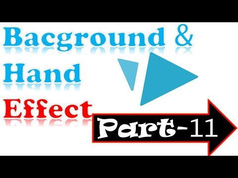 Videoscribe: How to Change Background Color And Erase -Different Hand Effect-Advance tutorial | p-11