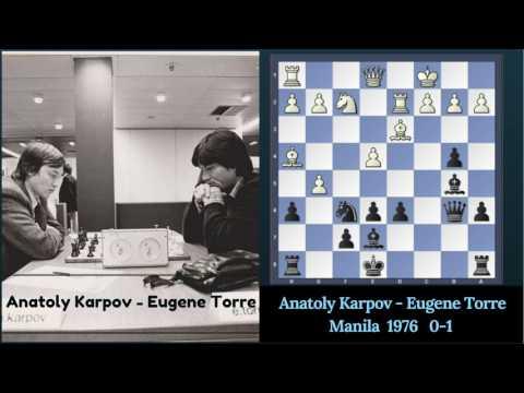 Karpov Vs Torre !0-1