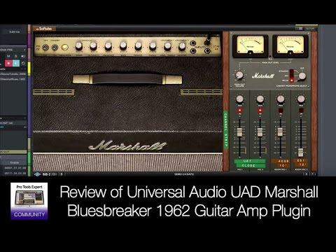 Review of Universal Audio UAD Marshall Bluesbreaker 1962 Guitar Amp Plugin