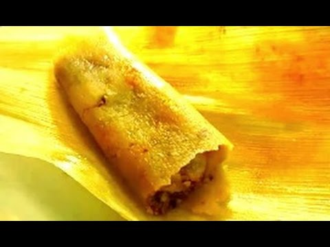 How to make Tamales - Easy Homemade Tamale Recipe