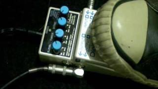 Boss dd-7 digital delay pedal modu Tutun demo loop ()