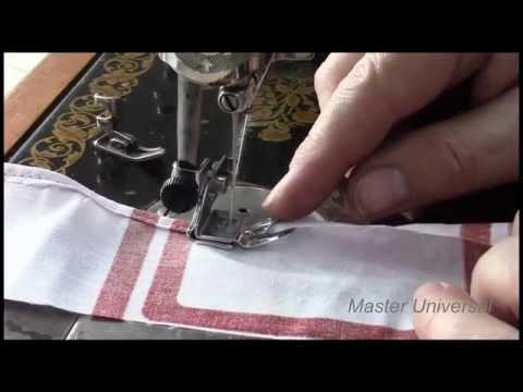 Швейная машинка подольск как заправить нитку видео