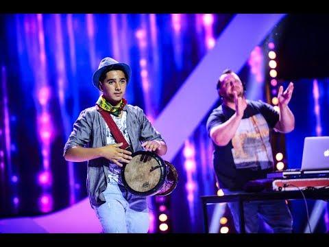 Show total pe scenă Next Star! Marian Ristea cântă la darabană
