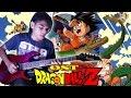 OST DragonBall Z Versi Indonesia Guitar Cover By Mr. JOM Versi Rock Metal