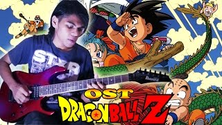 OST DragonBall Z Versi Indonesia Guitar Cover By Mr. JOM__Versi Rock Metal