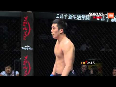 XIAOMI ROAD FC 027 Lightweight Match 'Zhang Lipeng VS Hong Young-Ki'