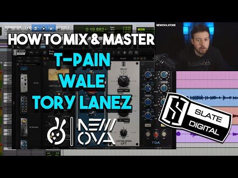 SLATERDAY Mix & Master Studio Session | AUTO TUNE RAP VOCALS | T