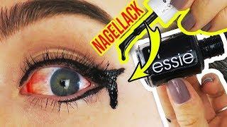 KRASSE INSTAGRAM BEAUTY HACKS & TRENDS IM TEST!! 😱 NAGELLACK als HALTBARER EYELINER?!