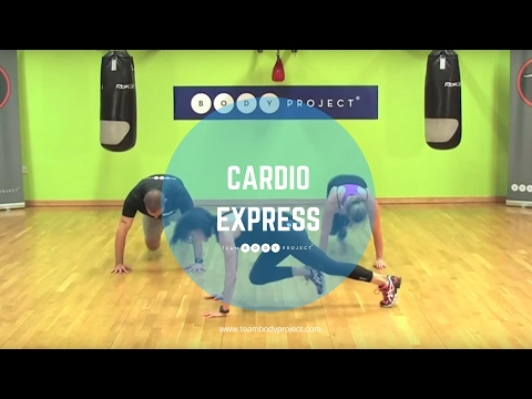 High intensity fat burning cardio workout (25 minutes) high impact and choreographed