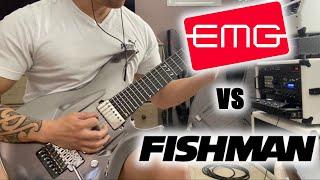 EMG-81 vs. EMG-57 vs Fishman Fluence Modern - Shootout