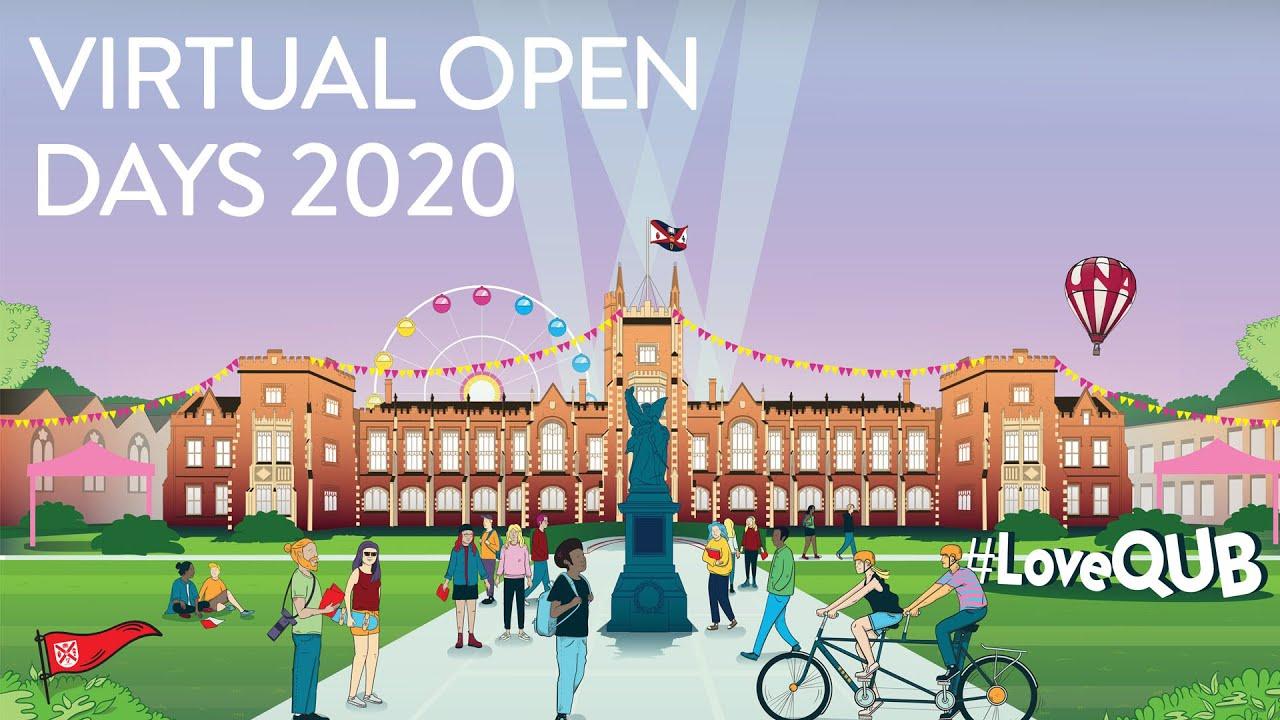 Undergraduate Open Days  About  Queens University Belfast