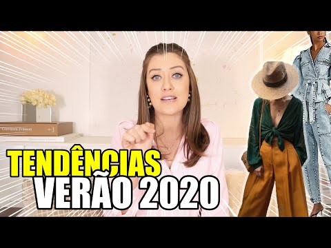 TENDÊNCIAS DO VERÃO 2020 - Vitória Portes