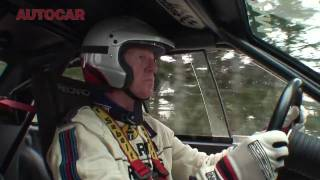 Walther Rohrl drives the Audi Quattro up the Col de Turini - autocar.co.uk