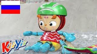 детские песни | Инси Винси паучок + Еще! | KiiYii | мультфильмы для детей