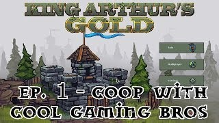 KAG Coop with Cool Gaming Bros Ep. 1 - The Manapult!