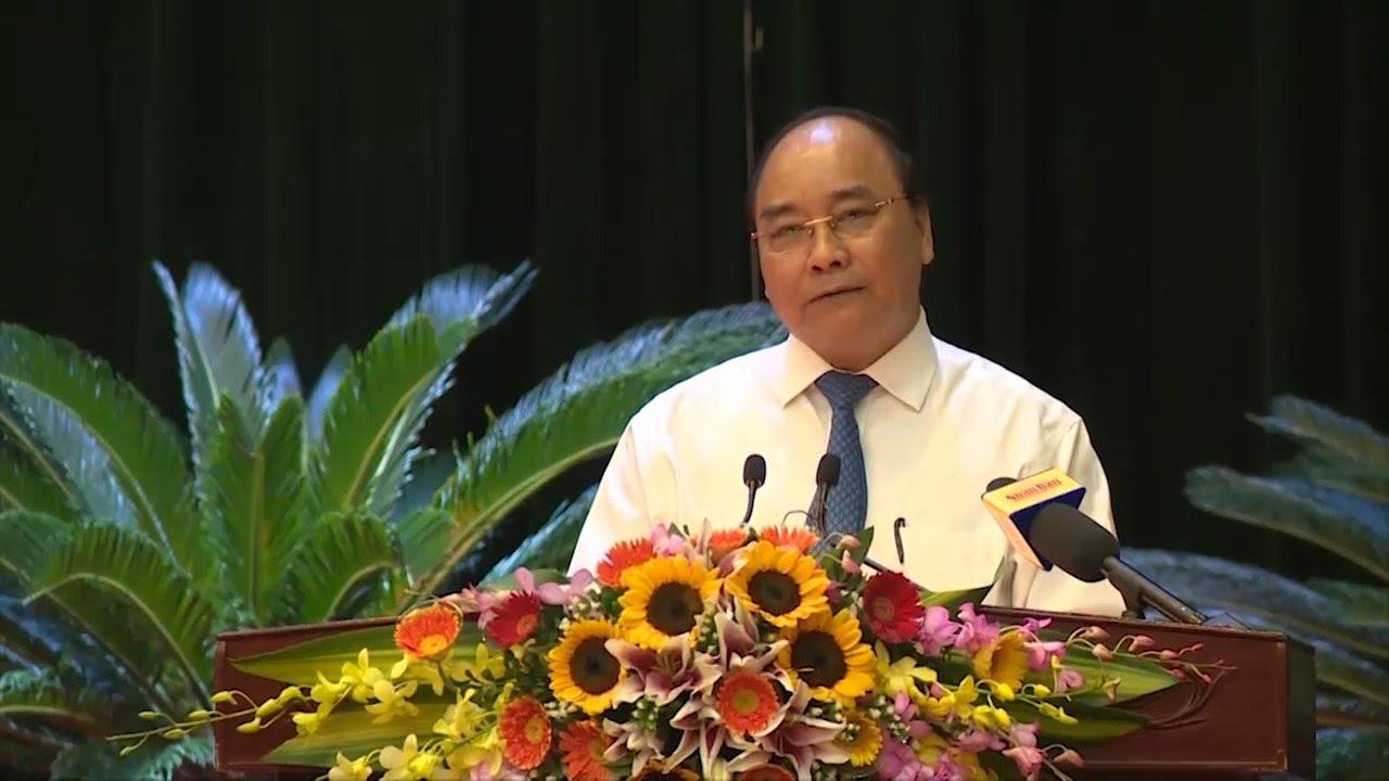 Thủ tướng Chính phủ Nguyễn Xuân Phúc làm việc với Bộ Tư lệnh Quân khu 3