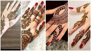 Most Trendy Engagement Mehndi  Design Ideas for Engagement Bride/ Stylish Mehndi Designs