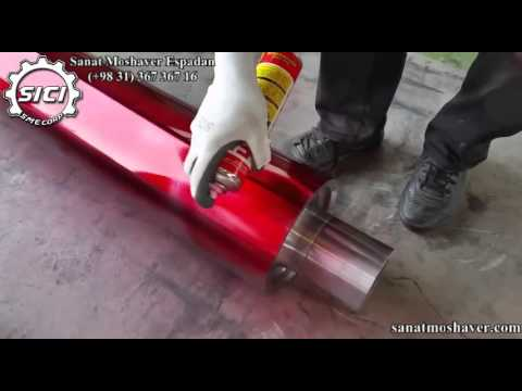 Liquid Penetrant Testing-Visible PT-Forged and machined Roller test