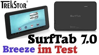 Review: TrekStor SurfTab breeze 7.0 im Test [deutsch]
