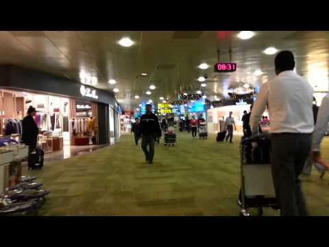 Bali travel blog: check in airport