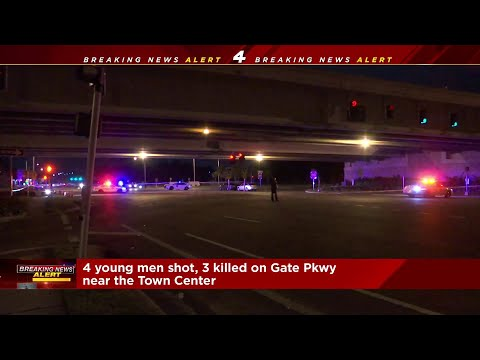 3 dead, 1 critical in shooting near Town Center Parkway