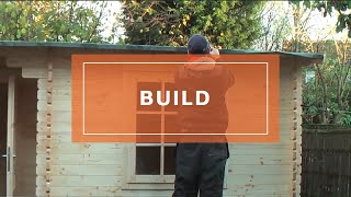 How To Build/install A Log Cabin By Waltons