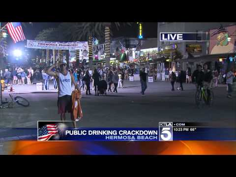 KTLA coverage of Simi Valley Fireworks Disaster 4th of July, 2013