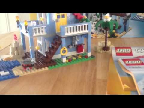 Lego set 7346 seaside house review