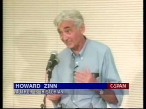 Howard Zinn on History  American Culture, Wealth, Democracy, Hate Crimes and Education 1999