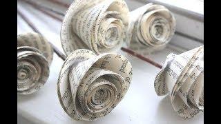 Download Video Cara membuat bunga mawar dari kertas mudah dan gampang | ide kreatif MP3 3GP MP4