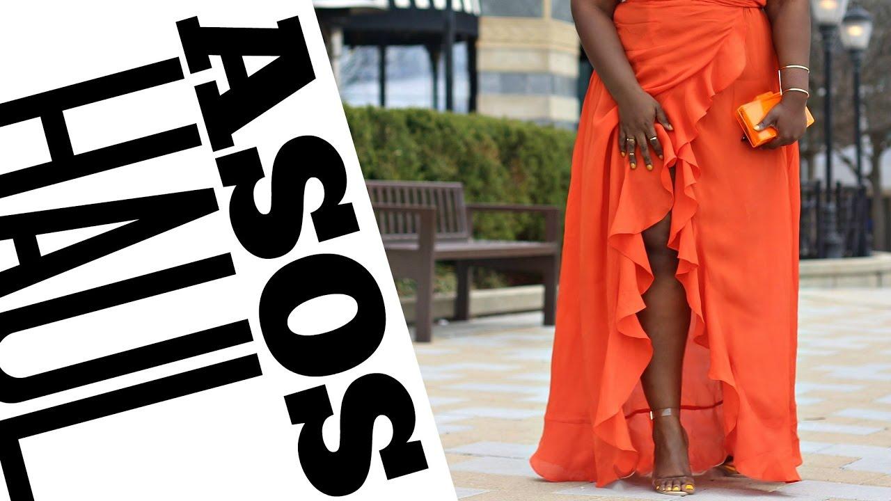 8d2abde526b3 ASOS OCCASION WEAR TRY-ON HAUL I SUMMER   SPRING DRESSES I CURVY ...
