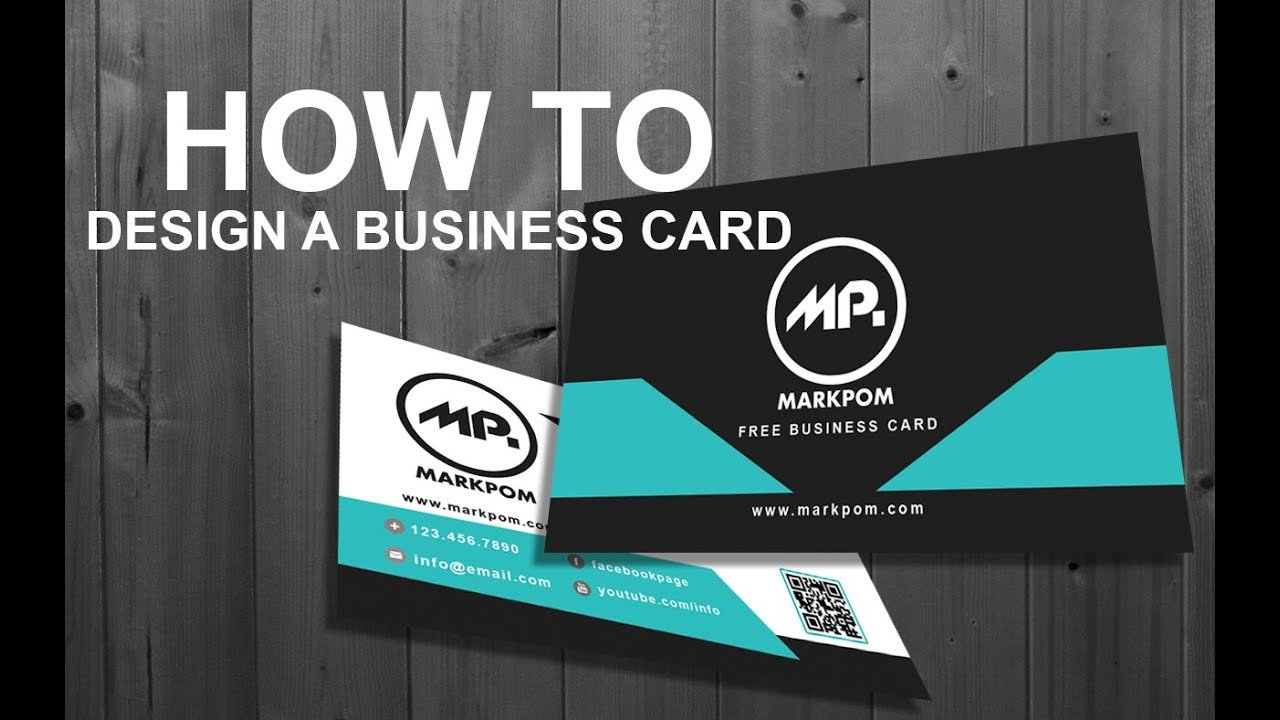 How to design a business card in photoshop free business card how to design a business card in photoshop free business card download more reheart Gallery