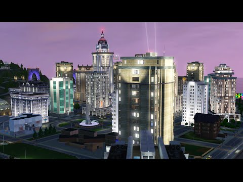 Sims 3 Speed Build - Cityview Penthouse