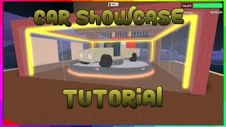 How To Make a Car Showcase!!! Lumber Tycoon 2