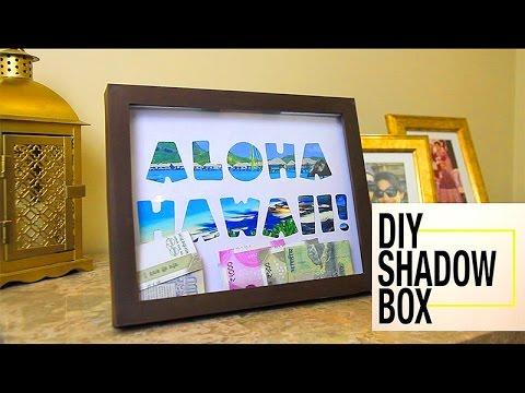 Shadow Box Money Box How To Make A Shadow Box Shadow Box Frame