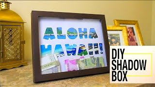 Shadow box | Money box | How to make a shadow box | Shadow box frame : DIYIndian