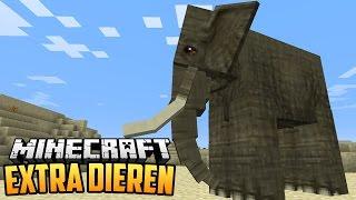 EXTRA DIEREN MOD - Minecraft Mod Showcase