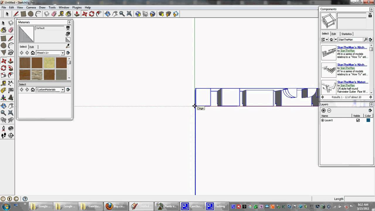 how to download google sketchup components