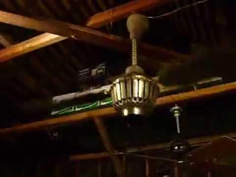 1907 Tuerk Type E Ceiling Fan Motor Youtube